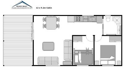 Specialy Priced 2 Bedroom  Cabin  Built To Lockup Stage - Save $$$$$