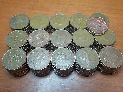 Mixed Lot of Circulated Coins from England