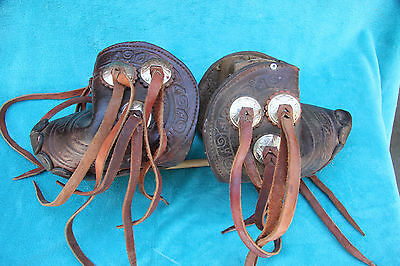 Vintage Western Tapaderos-Equestrian, Possible early 1960's