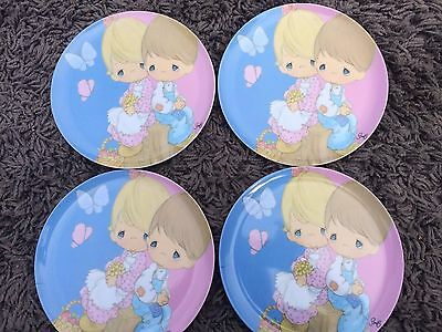 Precious Moments Child Plastic Dinner Plate set of 8