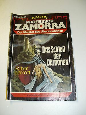 Bastei PROFESSOR ZAMORRA Band 1 Z2-