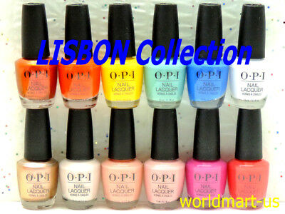 OPI Nail Polish Lacquer LISBON 2018 Collection 15ml/0.5fl.oz /Choose Any Color