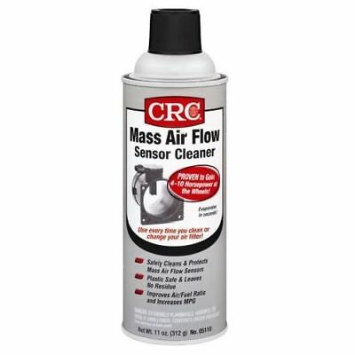 11 Oz CRC Residue Free Protective Car Auto Vehicle Mass Air Flow Sensor Cleaner
