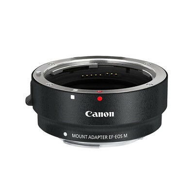 Canon Mount Adapter Ef-Eos M Ef-M Ean 4960999841137