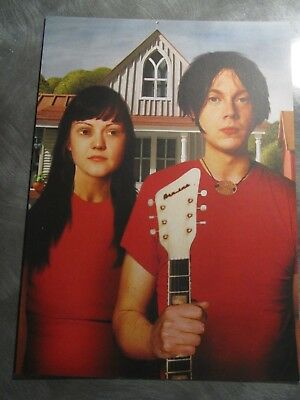 White Stripes, Large postcard print by Jonathan Burton