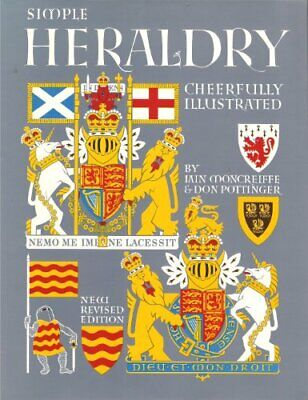 Simple Heraldry, Cheerfully Illustrated by Don Pottinger Paperback Book The