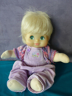 1986 My Child Doll - Blonde Hair - Plastic Face - Very Good Condition