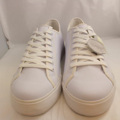 Mens Kickers White Canvas Lace Up Lace-ups UK Size  9*Ex Display