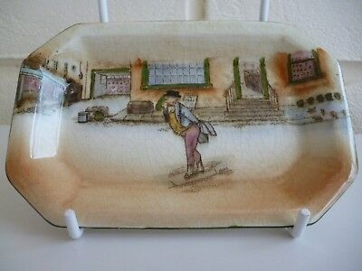 """Royal Doulton Dickens Ware Mr Pickwick Pin Dish Signed """"Noke"""""""