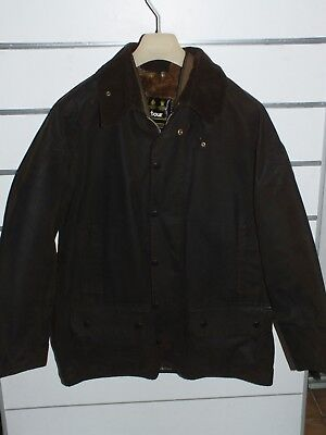 barbour moorland a50 jacket   jacke waxed cotton + inner pile  c44/112  xl