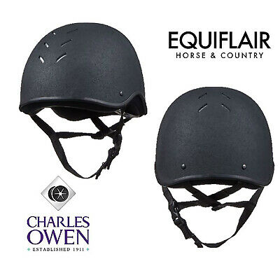 Charles Owen JS1 Jockey Skull Riding Helmet