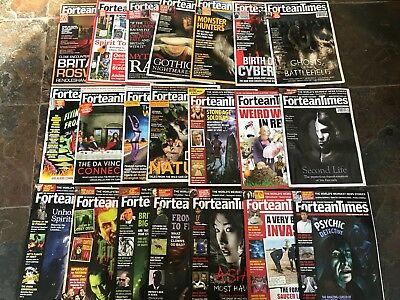 Fortean Times Job Lot 21 Issues 204-229 (Missing 5 ,issues,225,221,218,217,215)