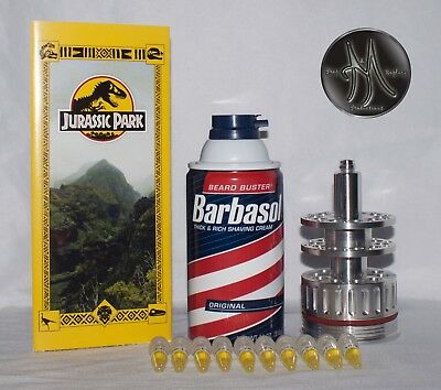 Jurassic Park Cryocan 11oz. With Park Map. Jurassic World. Movie Prop Replica.