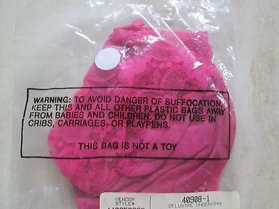 Fruit Of The Loom For Avon Delustre Underwire Bra 36 C In Fuchsia*nip Sealed