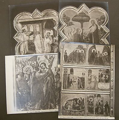 Vintage Silver Albumen Photos Of Fine Art In The Vatican Museum In Rome