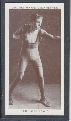 Churchman - Boxing Personalities 1938 - # 25 Ted (Kid) Lewis