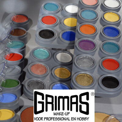 Grimas Water Make-up, 15 ml. Profi Schminke Wasserschminke