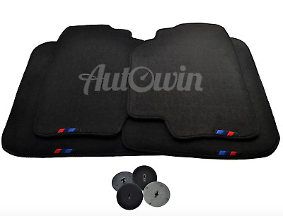 BMW M ///  Floor mats With M Emblem USA Vehicle TAILORED 1990-2017 Models