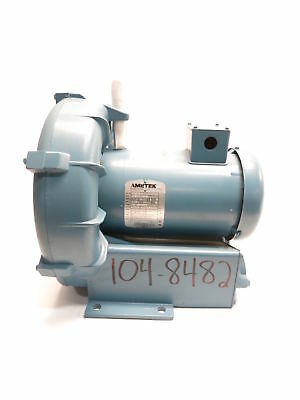 New Ametek DR505AS72M Regenerative Blower 2hp 230/460v-ac 1-1/2in Npt
