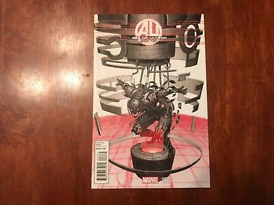 Age of Ultron #2 1/25 VARIANT COVER Marvel Comics 2013 BENDIS HITCH AVENGERS