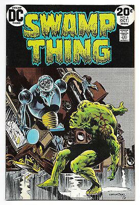 Swamp Thing #6 (Sep-Oct 1973, DC) NM (9.4) Wrightson High Grade!