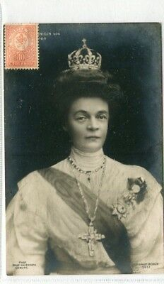 Postcard - Royalty- Posted    [Russian Stamp?]