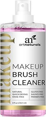 Artnaturals Makeup Brush Cleaner Gently Cleans Disinfects Dissolving Residue Fac