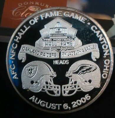 Super Bowl Champion Philadelphia Eagles Silver Proof Coin( LOW#142)(1 DAY PRICE)