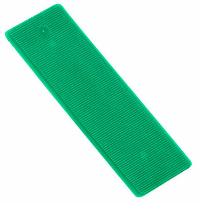50 - 1000 Window Glazing Packers (Green) 100mm x 28mm x 1mm. Several Pack Sizes