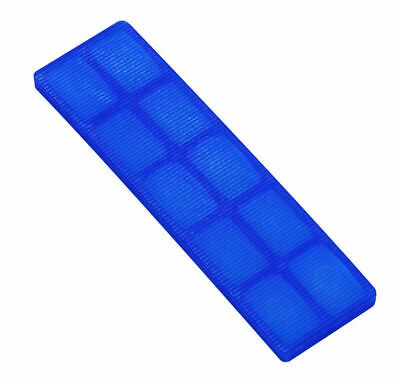 50 - 1000 Window Glazing Packers 100mm x 28mm x 5mm (Blue).  Several Pack Sizes