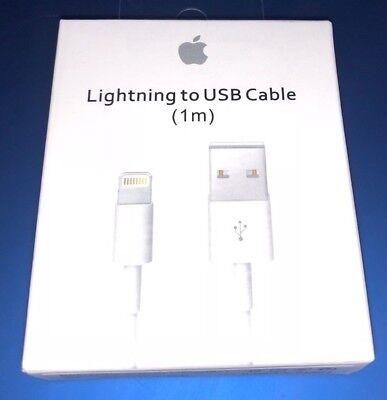 Original 1M/3FT Apple iPhone 5 5S 6 7 8 Lightning OEM USB Data Cable iPhone X