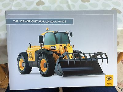 JCB 520's 530's and 540's Loadall tractor brochure 2008