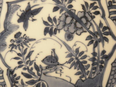 Chinese Porcelain Plate Kraak Design
