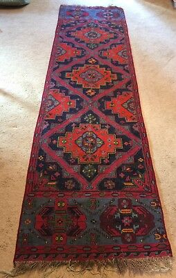 Palestinian made hand woven wool rug