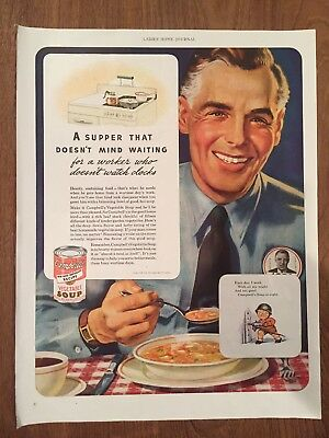 Vintage Campbells Soup Advertising