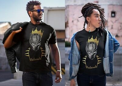 d95895cb3 Black Panther Nortorious Big King Mashup Wakanda Men Women Kid Shirt T shirt  NEW