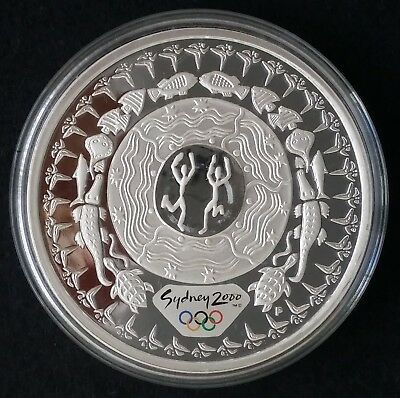 2000 Australia Sydney Olympic Collection ( 99.9% ) $5 Coin Festival of Dreaming