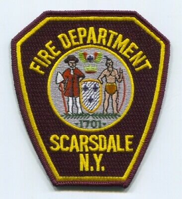 Scarsdale Fire Department Patch New York NY v2