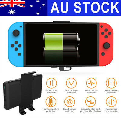 10000mAh 5V 2.4A Back Clip Battery Power Nintendo Switch Bank Charger Safety AU