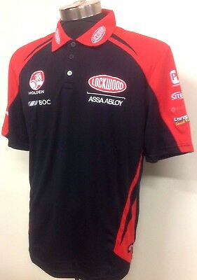 2X size XL V8 Supercars Holden Racing Team BOC Pit Crew-Polo Shirts