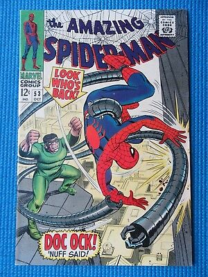 Amazing Spider-Man # 53 - (Vf/nm) - Dr Octopus -Peter Parker/gwen Stacy 1St Date