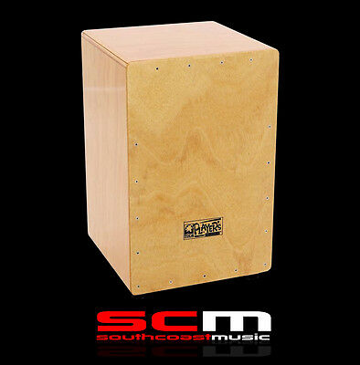 Toca Player Series Cajon Handcrafted Natural Gloss Finish With Gig Bag P+H Inc