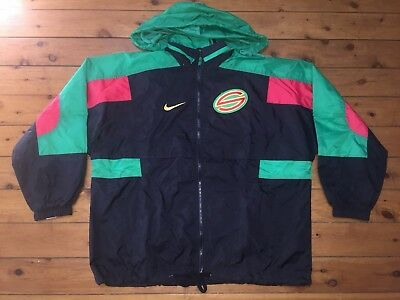 PENRITH PANTHERS SIGNED VINTAGE PEERLESS 80s RUGBY NRL SHIRT JERSEY YOUTH