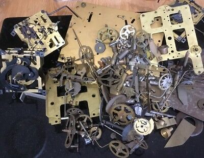 Clockmakers Bottom Drawer Repair, Parts, Steampunk, Mixed Media