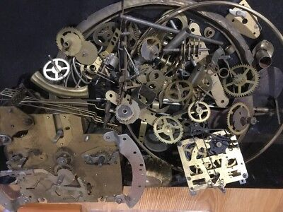 Another Clockmakers Bottom Drawer Repair, Parts, Steampunk, Mixed Media