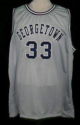 official photos be89d 446be PATRICK EWING COLLEGE Basketball Jersey Sewn New Any Size