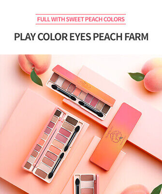 ETUDE HOUSE - PLAY COLOR EYES PEACH FARM ( Original EyeShadow Palette - KOREA )