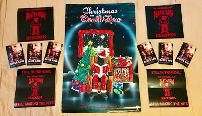 death row records christmas on death row poster stickers