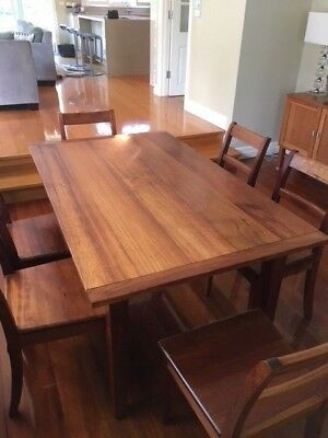 Nicholas Dattner Dining Table, 6 Seater, Wooden, Table And Chairs, Kitchen