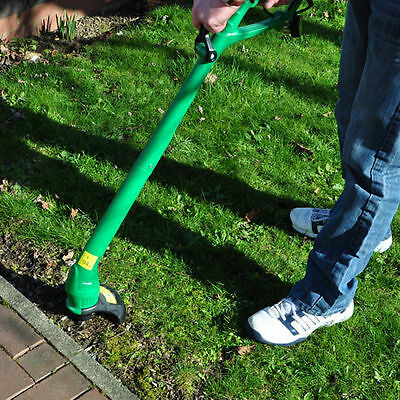 HEAVY DUTY 240v Electric Garden Grass Strimmer Trimmer Border Lawn Edge Cutter
